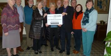 Davidsfonds steunt Sint-Vincentius