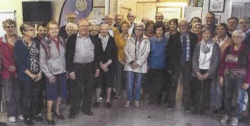 Rotaryclub Poperinge stuurt vrijwilligers naar vzw De Wervel