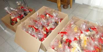 Sinterklaasgeschenkjes voor 117 kinderen