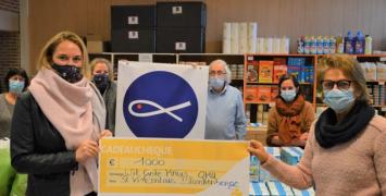 Wit-Gele Kruis Oostkust steunt Blankenbergse Sint-Vincentiusvereniging